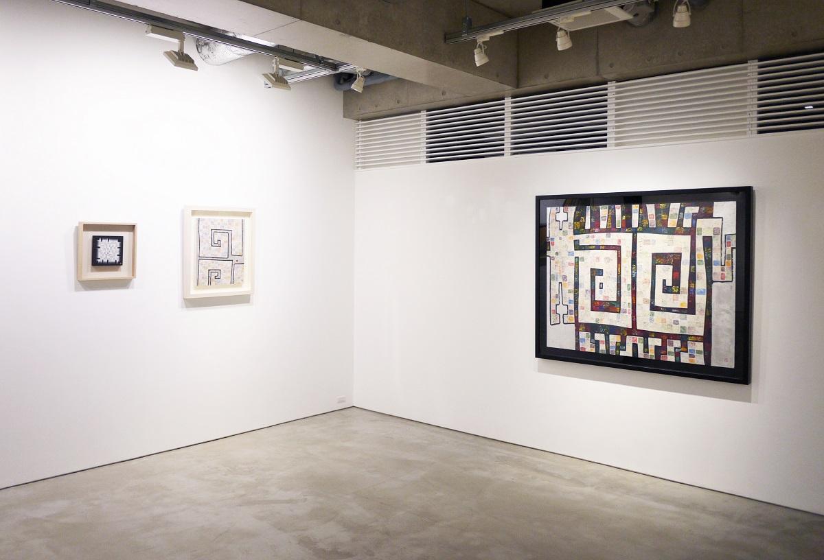 Installation view, artwork: Ikki Sakamoto