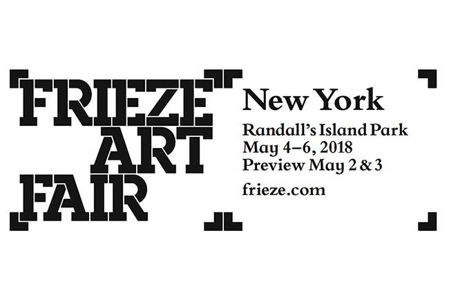 Frieze Art Fair NY 2018 logo