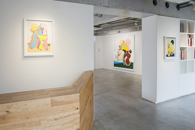 Installation view, artwork: Susumu Kamijo