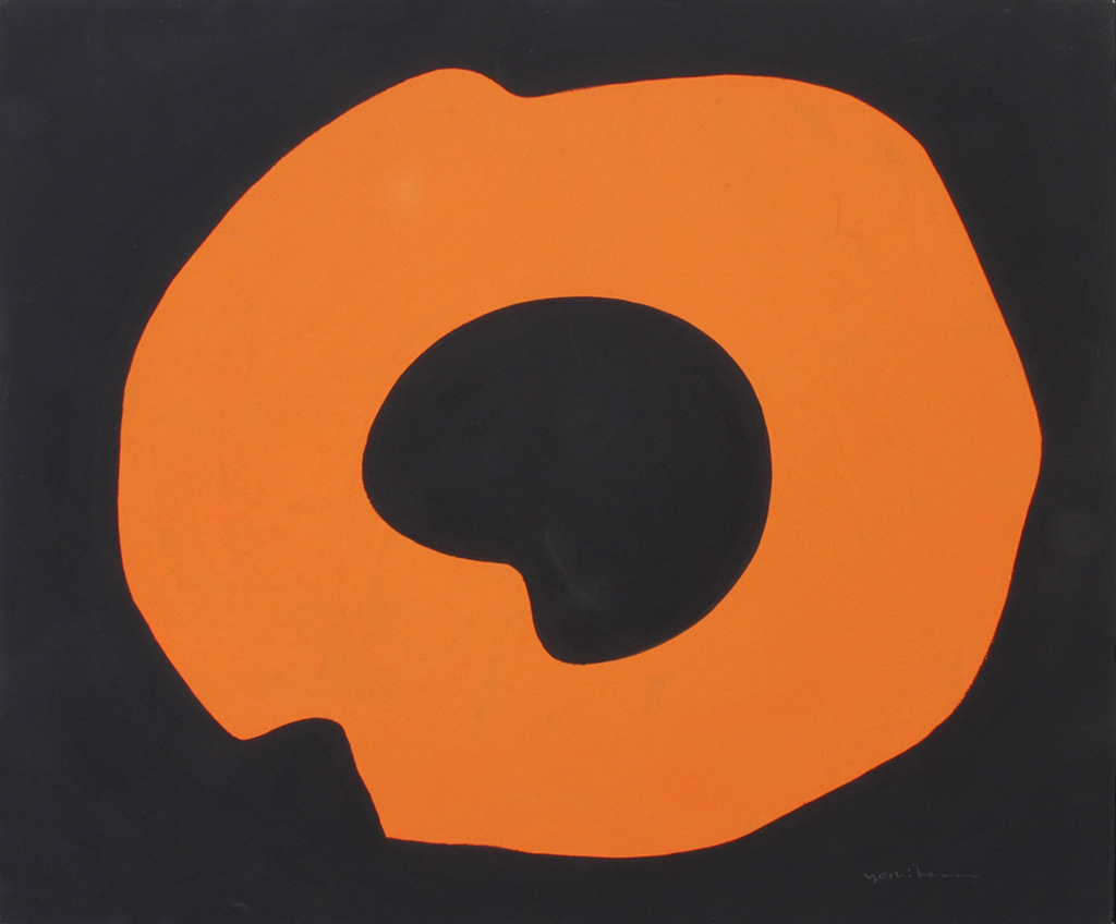 Jiro Yoshihara, Untitled, circa 1965, oil on canvas, 50.0x60.8cm