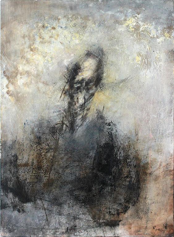 Ryo Hirano, Self-portrait, 1989, 72.7x53.1cm