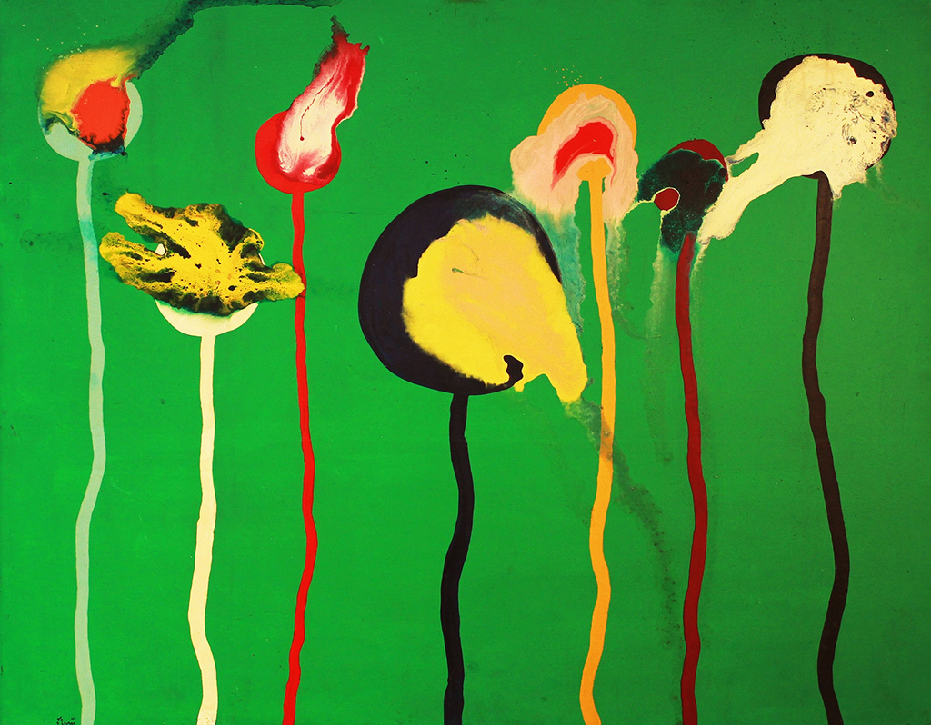 Sadamasa Motonaga, Untitled, 1965, oil on canvas, 92.0x116.7cm