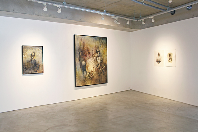 Installation view, artwork: Ryo Hirano