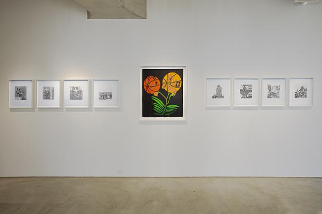 Installation view, artwork: Jonas Wood