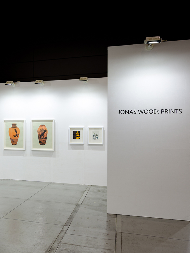 Installation view, artwork: Jonas Wood