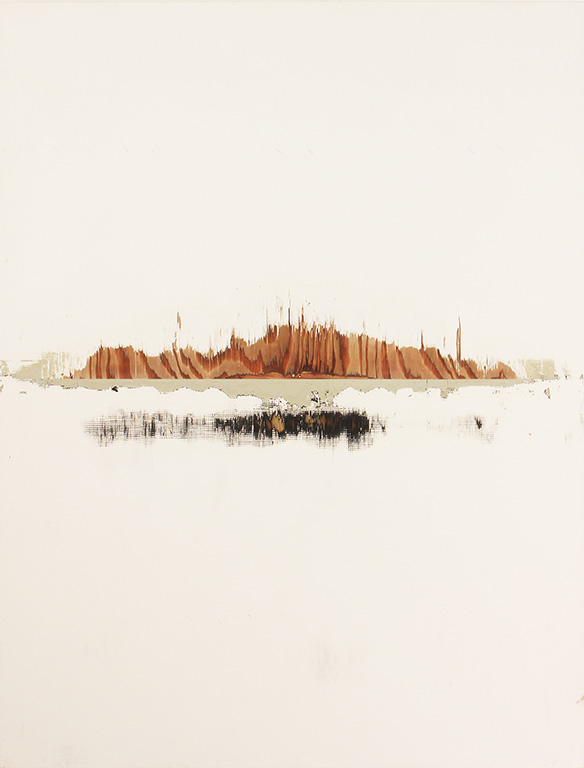 Noriyuki Haraguchi, 'SAGYOU-1', 2019, acrylic on wood, 120.3 x 91.0 x 5.5cm