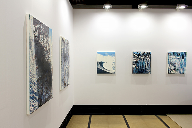 Installation view, artwork: Michael Kagan