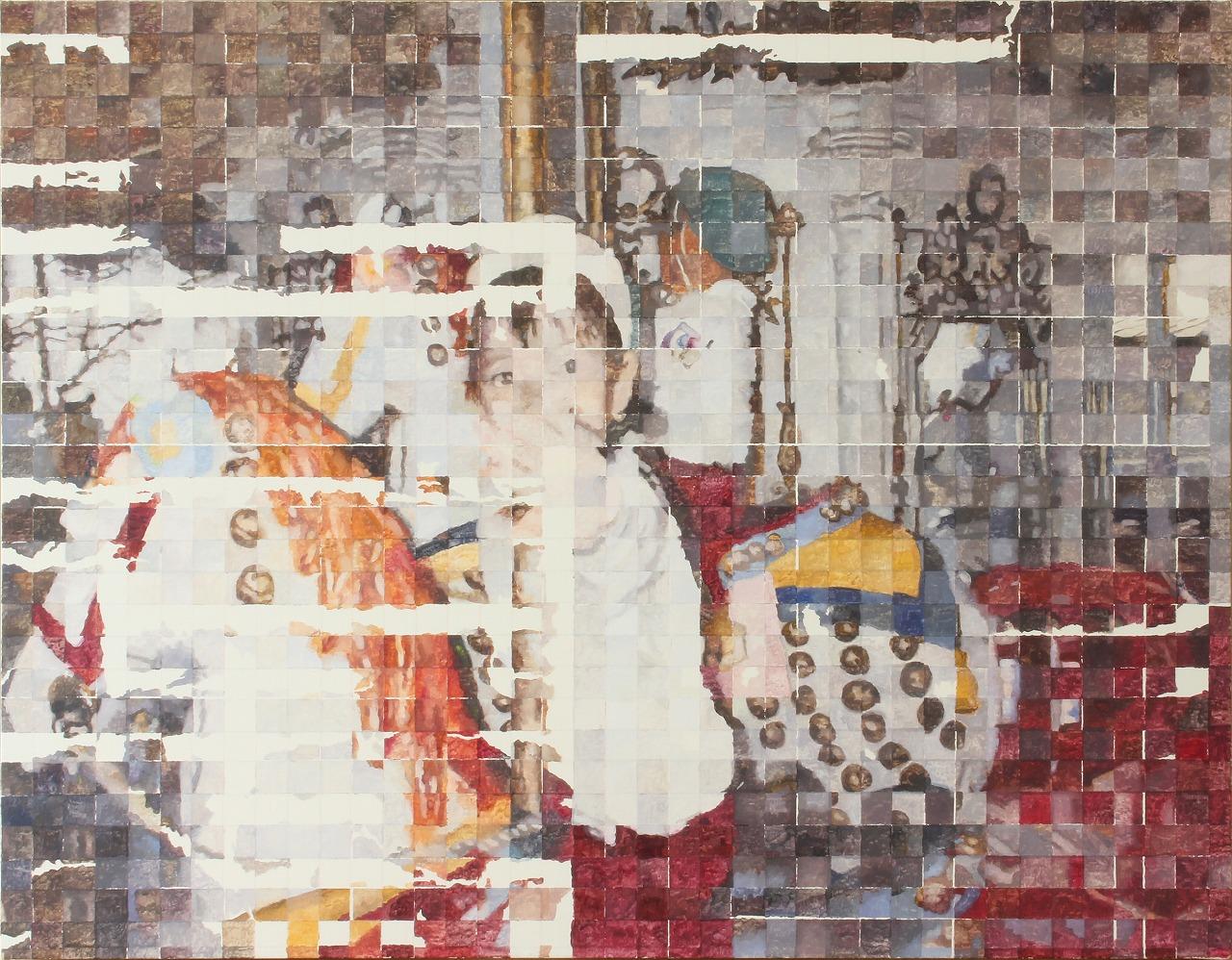 Shiori Tono, <em>Friday</em>, 2018, oil on canvas, 91.0 x 116.7 cm
