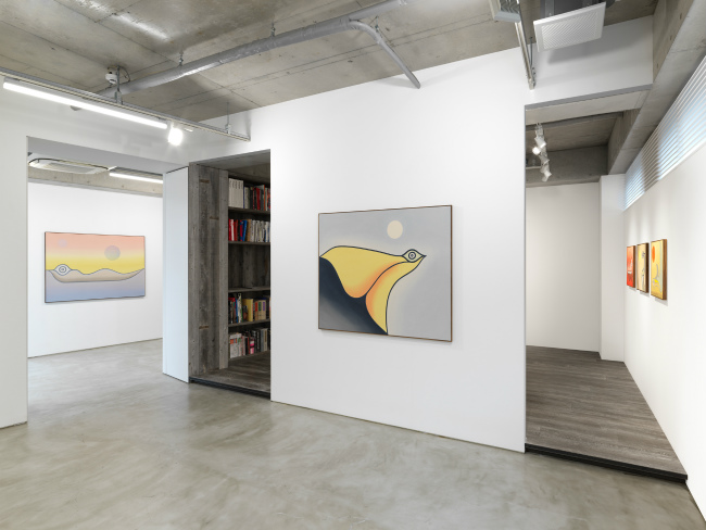 Installation view, artwork: Anthony Miler, Photo: Dan Bradica