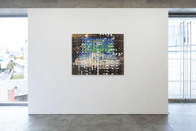 Installation view with Shiori Tono, 'THE END', 2020