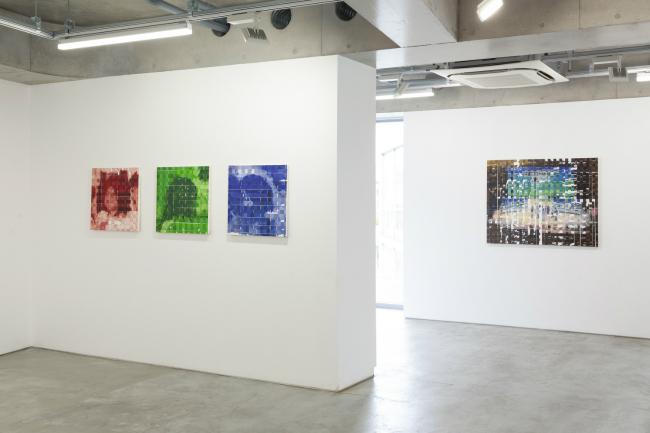 Installation view, artwork: Shiori Tono