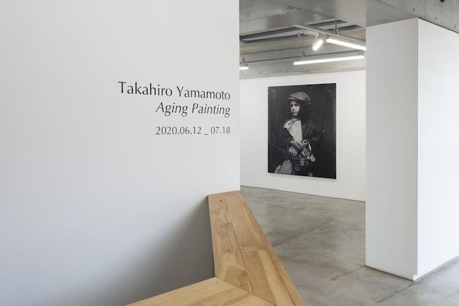 Installation view with Takahiro Yamamoto, 'Untitled', 2019-2020