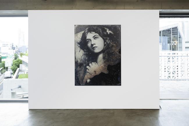 Installation view with Takahiro Yamamoto, 'Untitled', 2020