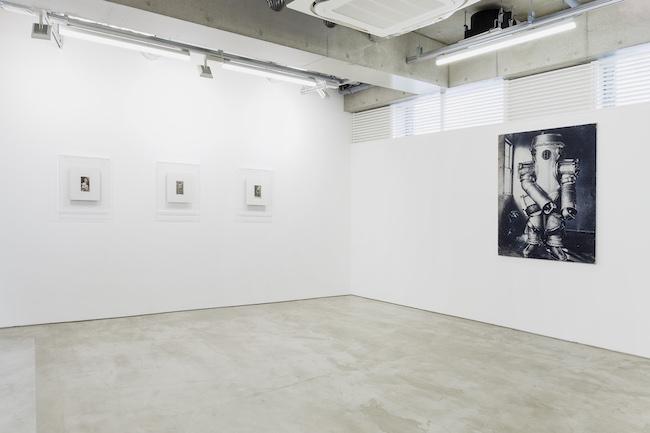 Installation view, artwork: Takahiro Yamamoto