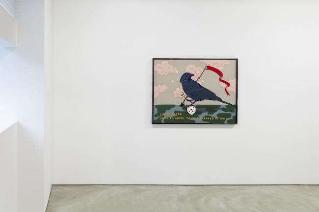 Installation view with Koichiro Takagi, 'I have never seen', 2020