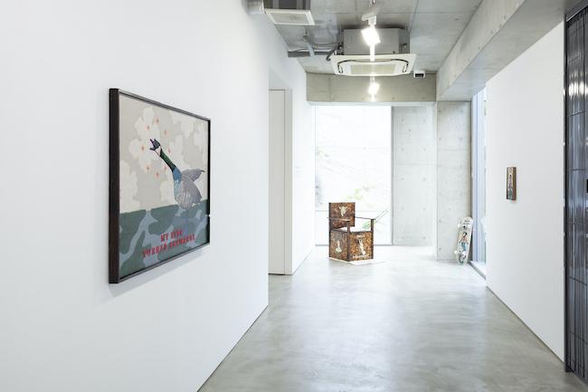 Installation view, artwork: Koichiro Takagi