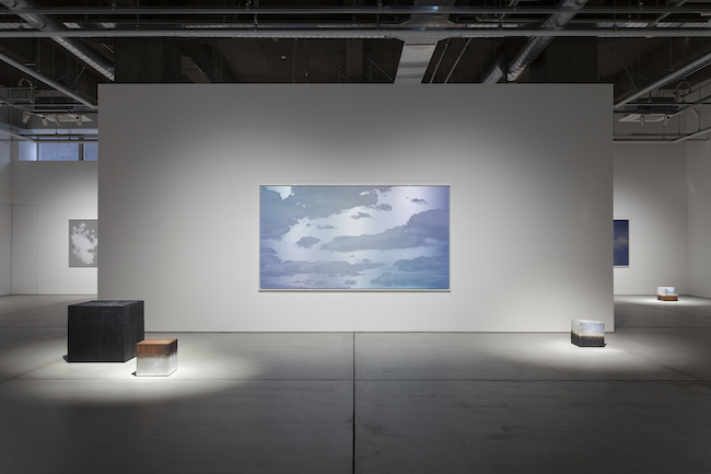 Installation view, artwork: Miya Ando