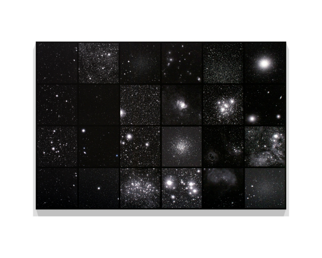 Miya Ando, 'Galaxy (Ginga, The Silver River)', 2020, ink on canvas, 128.3 x 191.7 cm