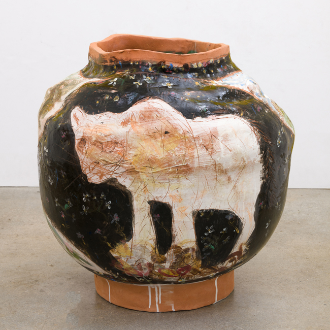 Jennifer Rochlin, 'P22, Coyote, Griffith Park, Echo Park', 2018, ceramic with glaze, 76.0 x 64.0 x 64.0 cm