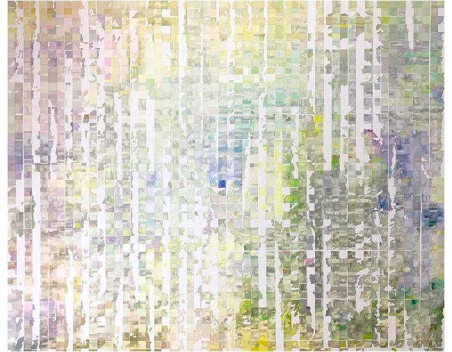 Shiori Tono, <em>trace the ridgeline</em>, 2020, oil on canvas, 130.3 x 162.0 cm