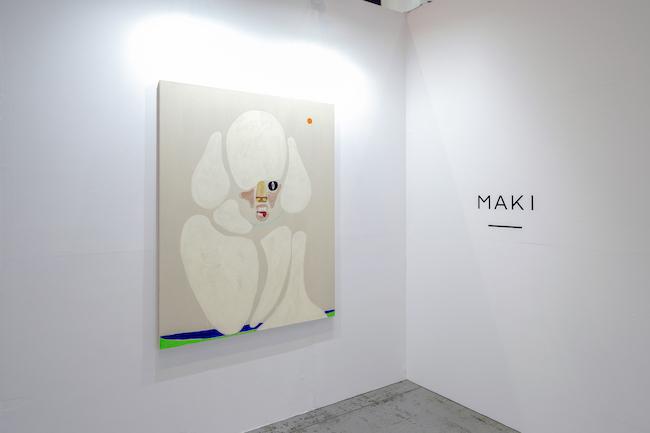 Installation view with Susumu Kamijo, <em>Come A Little Closer</em>, 2021