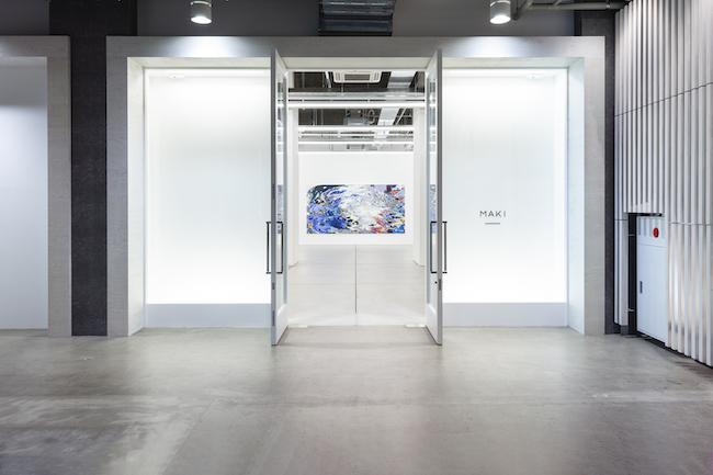 Installation view with Anne Kagioka Rigoulet, <em>Figure k-h-5</em>, 2020