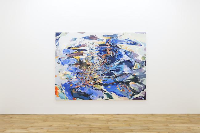 Installation view with Anne Kagioka Rigoulet, <em>Figure k-h-9</em>, 2020