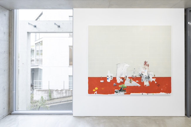Installation view with Brian Harte, <em>Maldon</em>, 2021