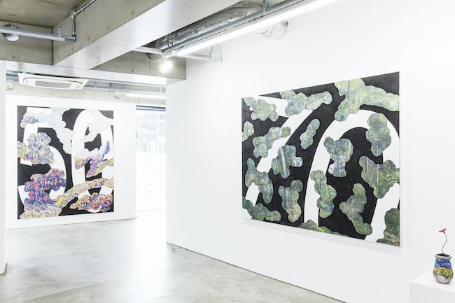 Installation view, artwork: Takuro Tamura